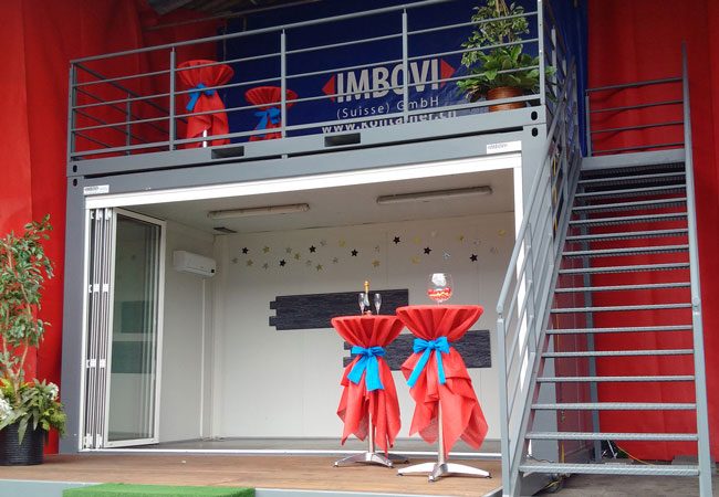 Containerdienst Willisau: Eventcontainer mieten und kaufen